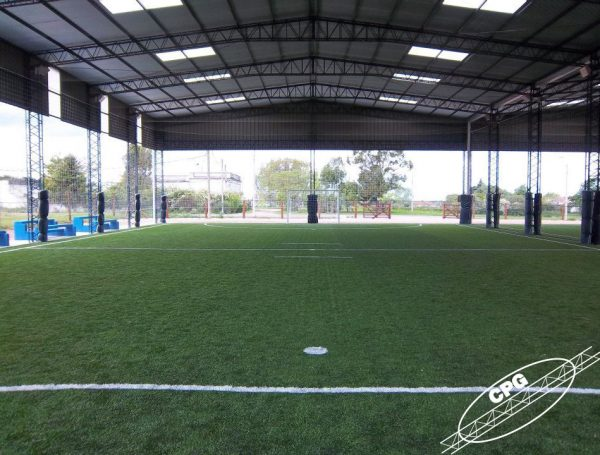 Techos Canchas Futbol 5